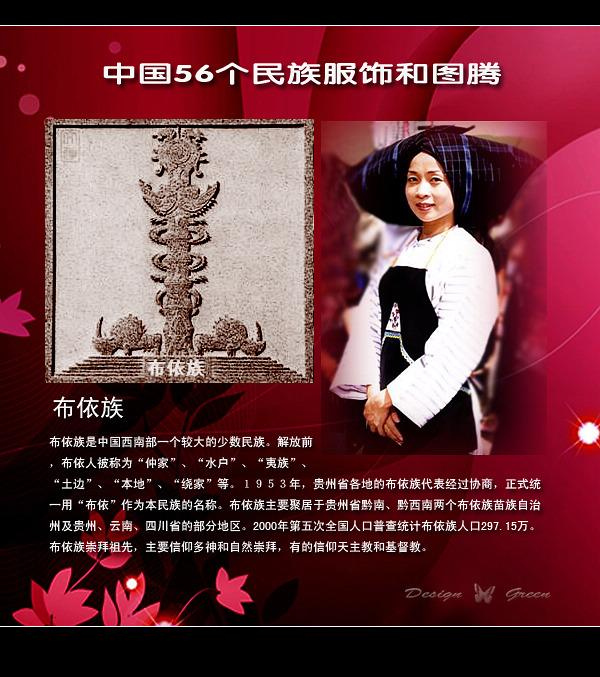 中国56个民族图腾和服饰 - 一起过,健康网络生活 - 一起过