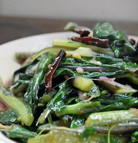 清脂减肥素菜-炝炒油菜苔(安徽新东方)