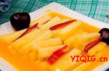 脆口开胃的糖醋腌萝卜条