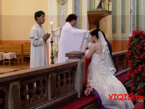 不是教徒怎么去教堂结婚?