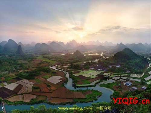 最美的中国景色