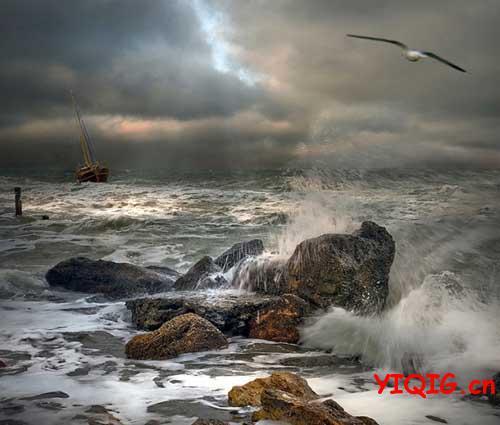 任何时间的大海都是绝美景色