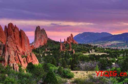 美国后院最亮丽的景色