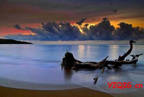 唯美大海的照片