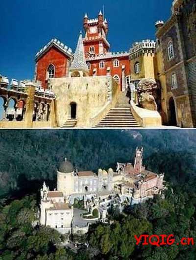 堪比童话世界里的城堡风光