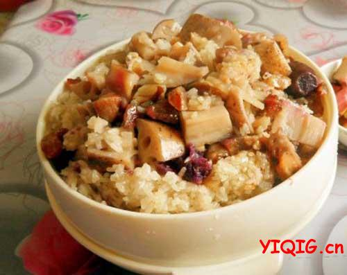 初级厨艺也能做出咸香软糯的糯米饭