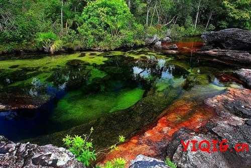 天然的奇迹——如果彩虹能流成河