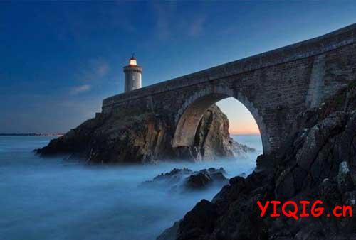唯美风景就在世界尽头的灯塔