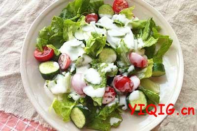 春天减肥蔬菜沙拉做法