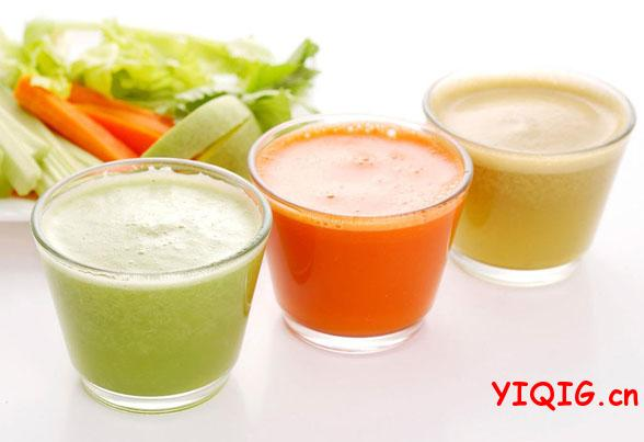祛除雀斑的水果蔬菜汁