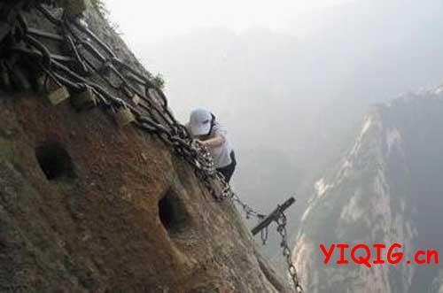 中国七大栈道,无限风光在险镜