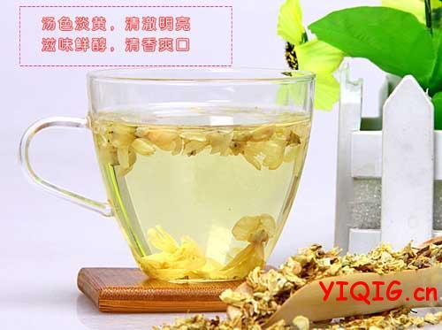 槐花茶的功效与泡制方法