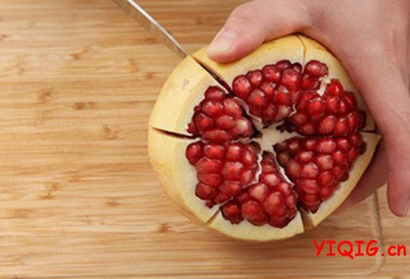 金秋应季水果石榴,如何选如何吃的技巧